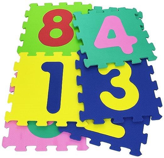 129 opinioni per Vitamina G 05094- Mattonelle Puzzle Numeri, 9 Pezzi