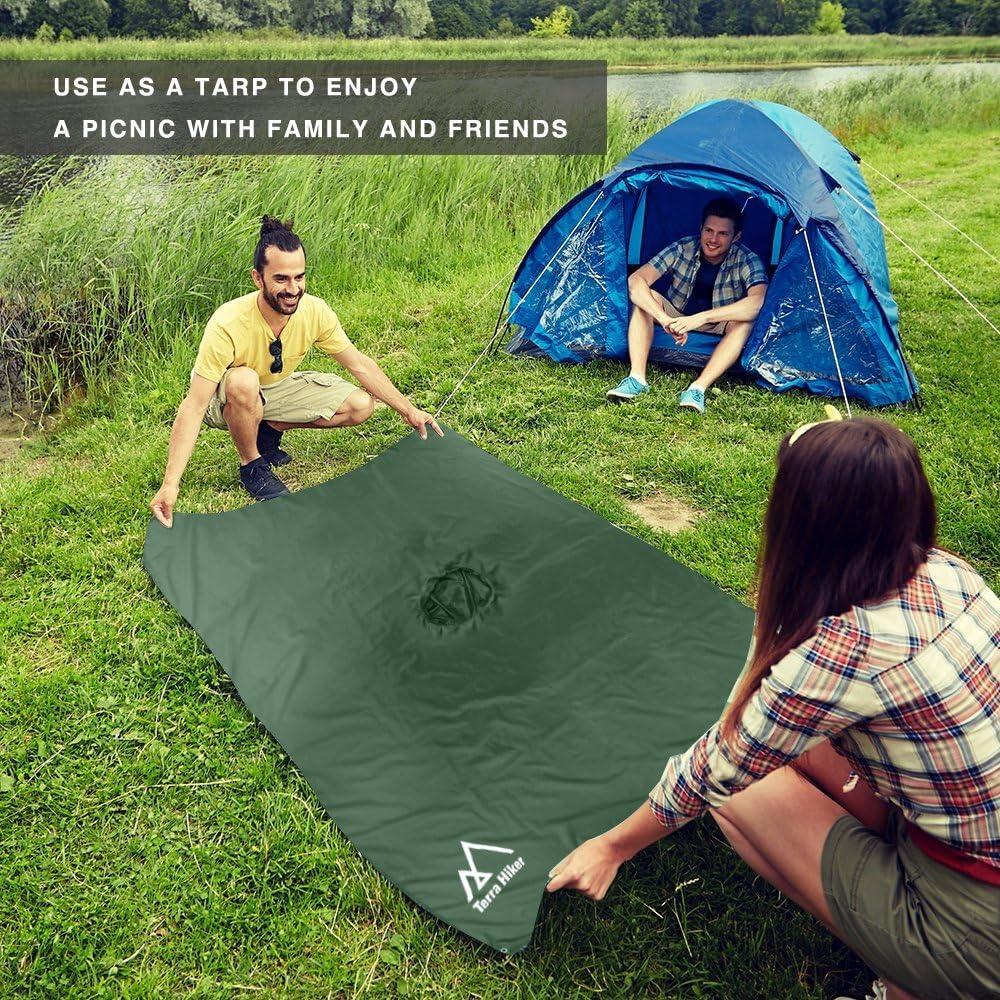 Terra Hiker 15 New Chubasquero Multifuncional 3 en 1 para Camping Senderismo