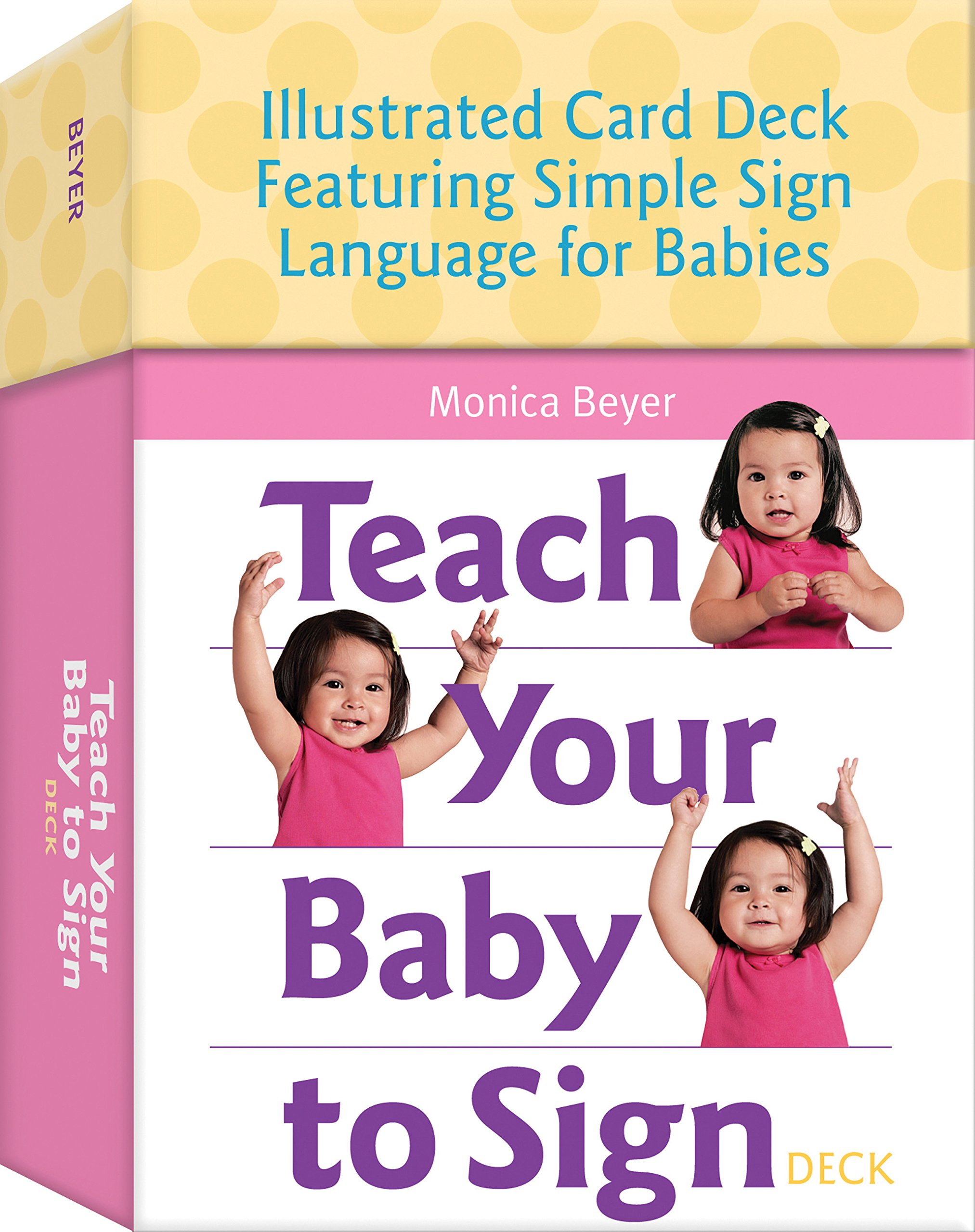 Teach Your Baby to Sign Deck: Illustrated Card Deck Featuring Simple Sign Language for Babies by Fair Winds Press