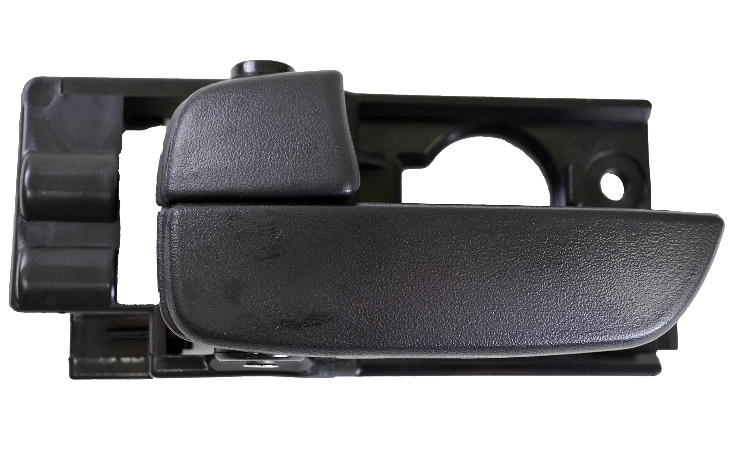 PT Auto Warehouse HY-2235A-FL - Inside Interior Inner Door Handle, Black - Driver Side Front