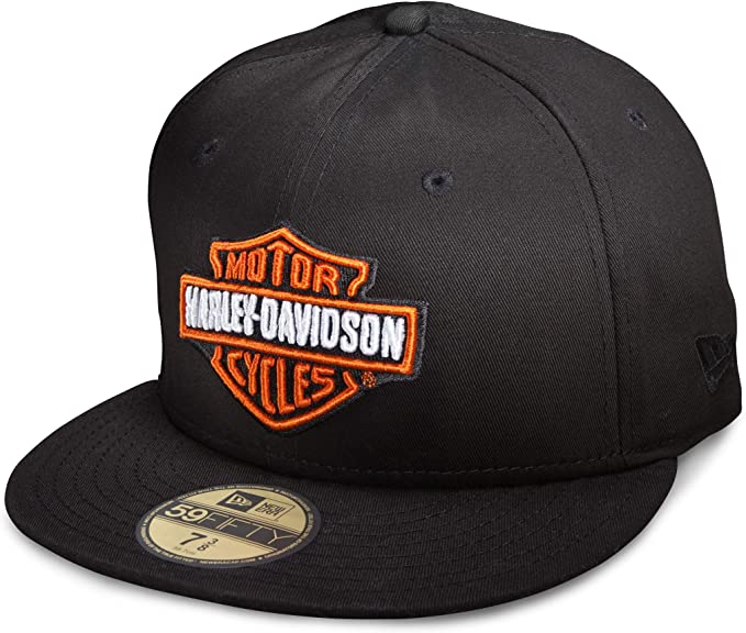 HARLEY-DAVIDSON 59FIFTY Gorra Oficial de Bar & Shield para Hombre ...