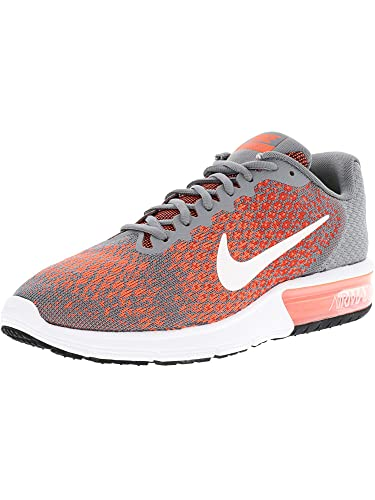 watch fb616 92565 Nike Men s Air Max Sequent 2 Running Shoes (10. 5 D(M) US, Cool Grey White- Max Orange)  Buy Online at Low Prices in India - Amazon.in