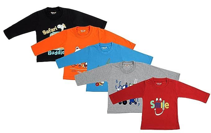d3345675ac Kuchipoo Boy's Cotton T-Shirt