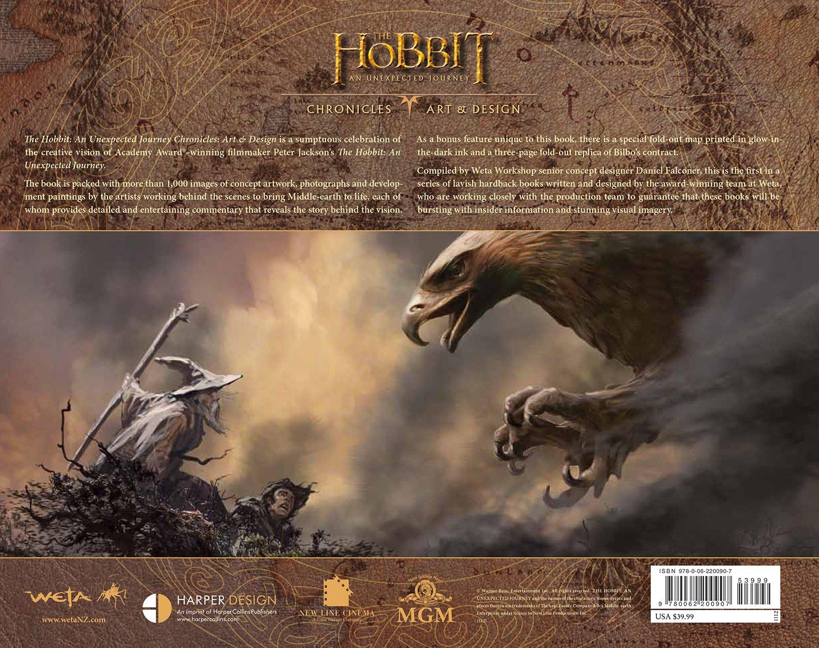 The Hobbit An Unexpected Journey Chronicles Art Design Pdf