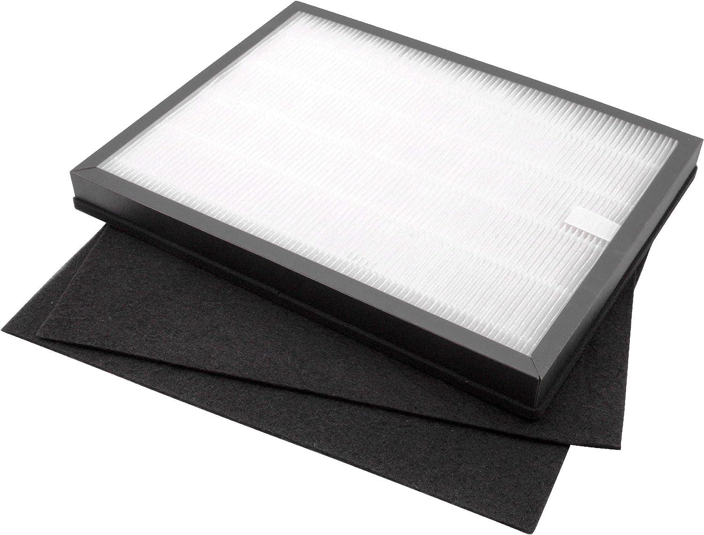 vhbw 3X Filtros de Recambio, filtros de Aire para humidificador de ...