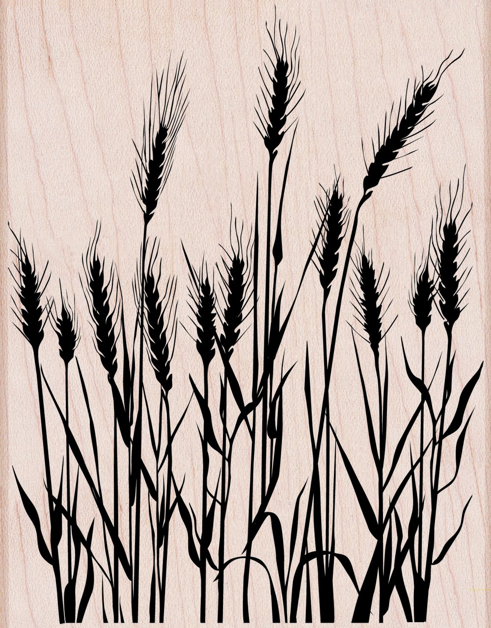 Hero Arts Woodblock Stamp Silhouette Grass Inc. S5316