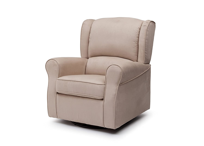 Amazoncom Delta Furniture Morgan Upholstered Glider Swivel Rocker