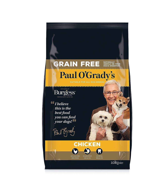 Paul O Grady - Pollo sin Grano (10 kg): Amazon.es: Productos para mascotas