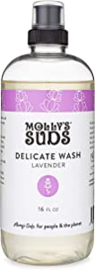 Molly's Suds Delicate Wash, Concentrated, Natural and Gentle Formula. Liquid Laundry Detergent, Lavender Scented, 16 fl oz