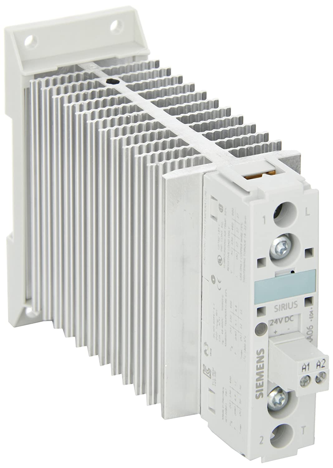 1 NO 0-600 Degrees Celsius Measuring Range 22.5mm Width Overrange Function Typ J Thermocouple Sensor 2 Threshold Values Analog Setting 24-240VAC//VDC Control Sup Screw Terminal Siemens 3RS11 20-1DW30 Temperature Monitoring Relay 1 CO Contact Type