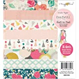 Crate Paper Maggie Holmes Confetti Patterned Paper Pad, 6 by 6-Inch