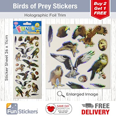 Fun Stickers Birds of Prey 837: Kitchen & Dining