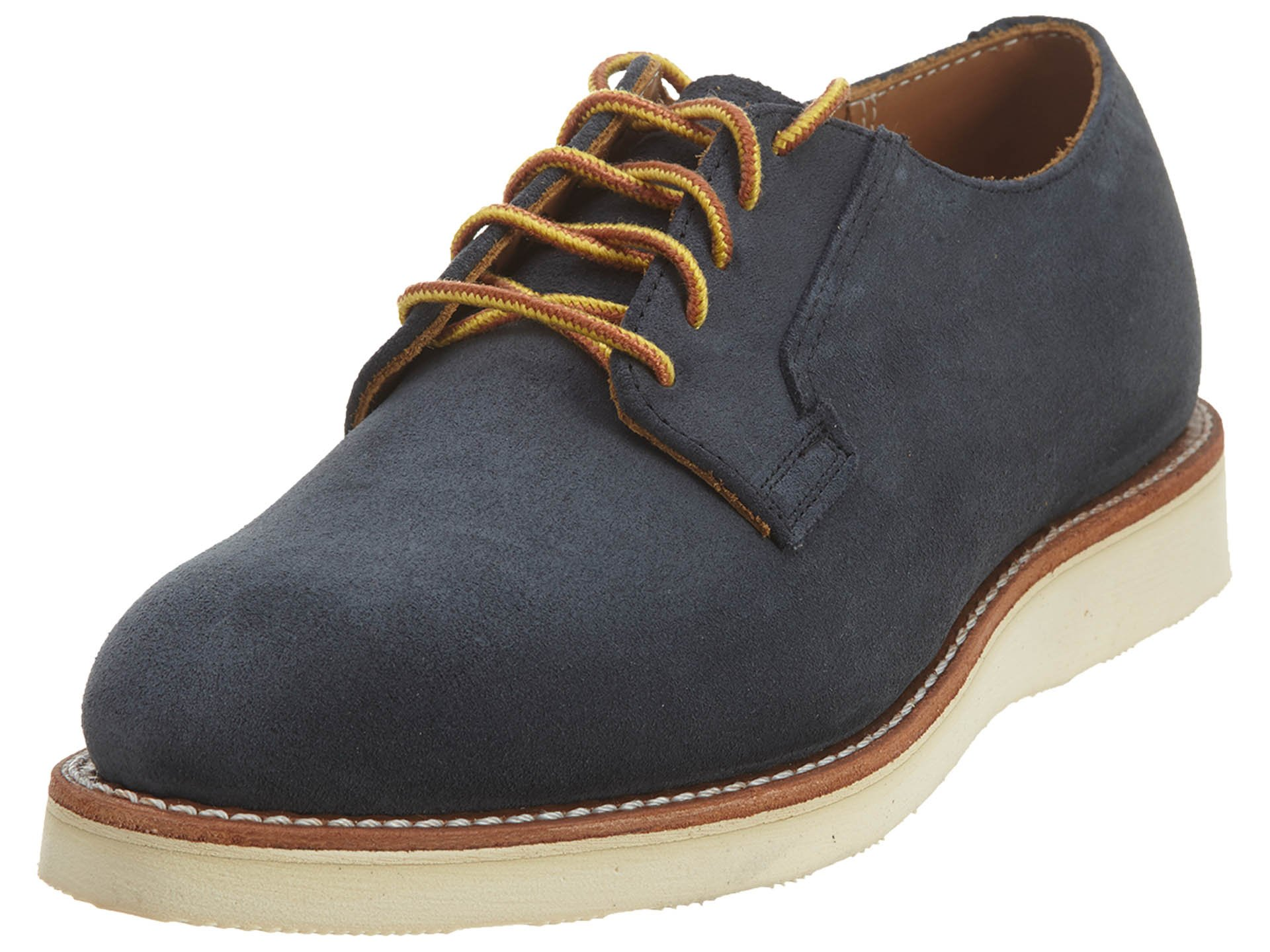 Red Wing Heritage Men's Postman Oxford, Navy Abilene, 9 D US