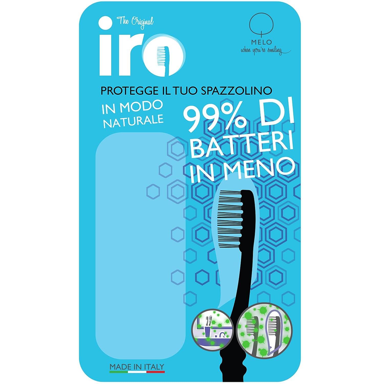 Cubierta de la cabeza cepillo de dientes iRo x3, funda protectora para cepillo de diente antibacterial a 99,9%,cobertura universal para el cepillo de ...