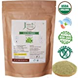 100% Organic Aloe Vera Powder - 227g /0.5 LB USDA Organic Certified (Aloe Barbadensis) for
