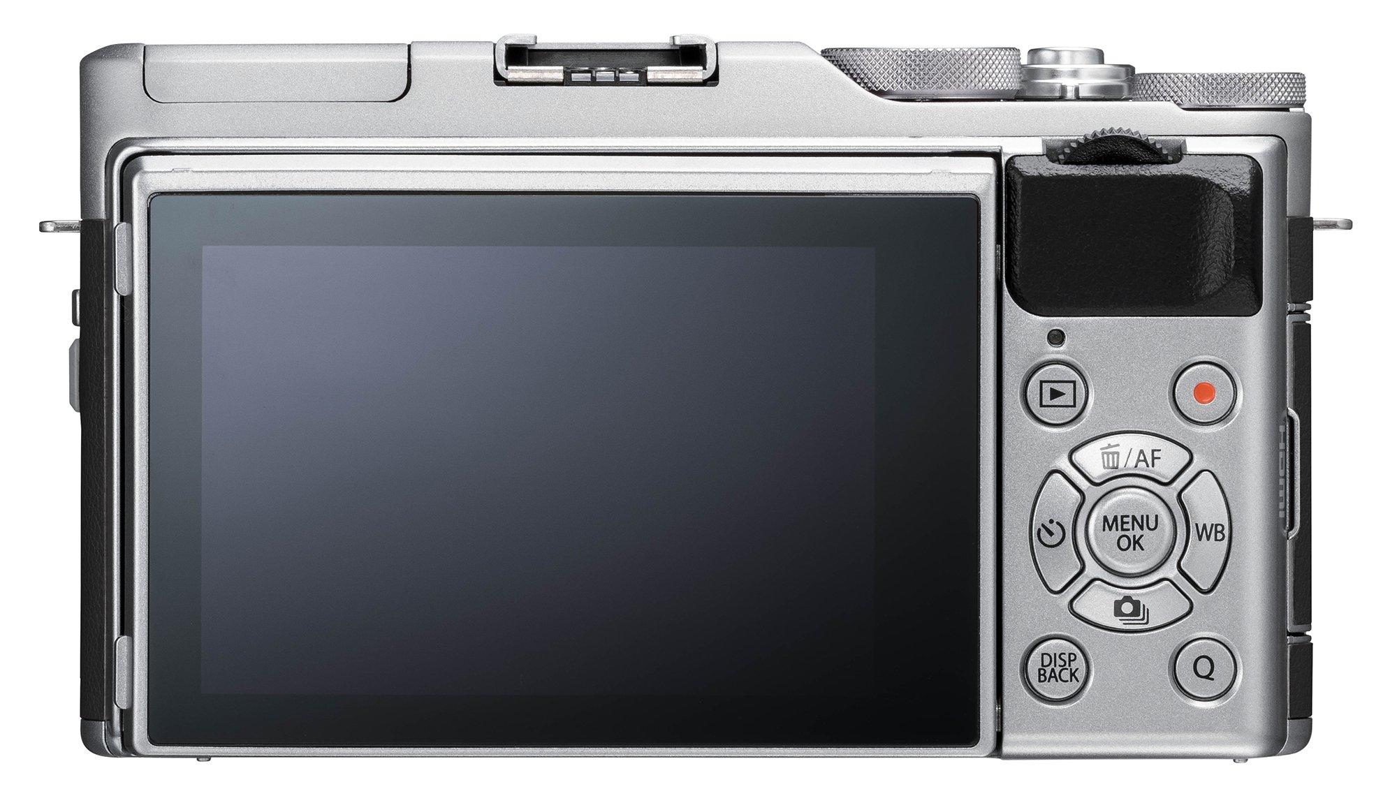 Fujifilm X-A5 Mirrorless Digital Camera w/XC15-45mmF3.5-5.6 OIS PZ Lens - Silver by Fujifilm (Image #3)