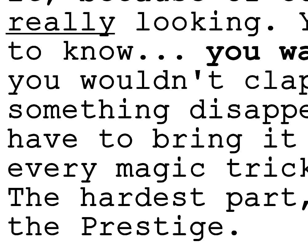 66181 The Prestige Movie Hugh Jackman hristian Bale Decor Wall Print POSTER