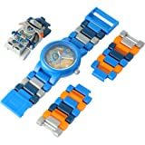 LEGO Watches and Clocks Boy's 'Ninjago Nexo Knights' Quartz Plastic Casual WatchMulti Color (Model: 8020516)