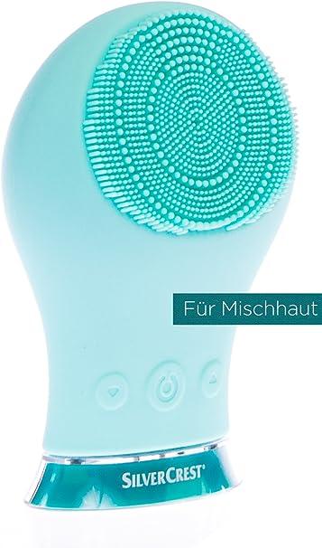Silvercrest® afeitadora. cepillo de limpieza facial sgrs 3.7 A1, color turquesa: Amazon.es: Salud y cuidado personal