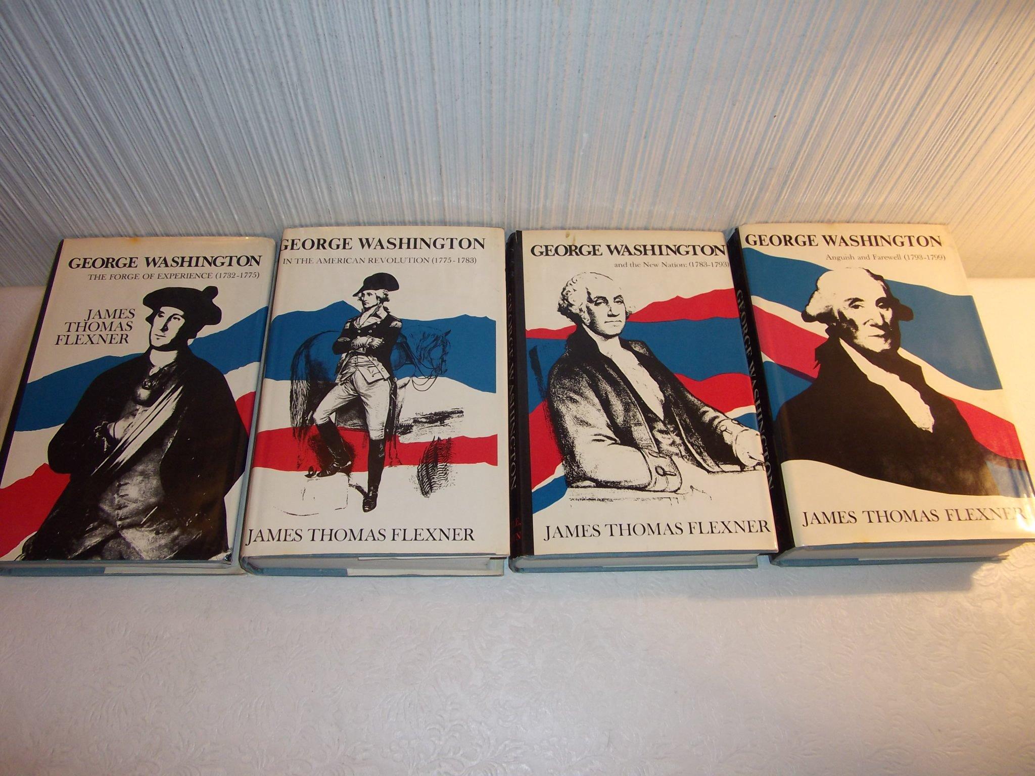 George Washington: 4 Volume Set: James Thomas Flexner: Amazon: Books