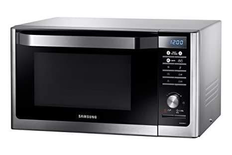 Samsung MC32F606TCT - Horno microondas sencillos, 32 L, 1500 W, color plateado: Amazon.es: Hogar
