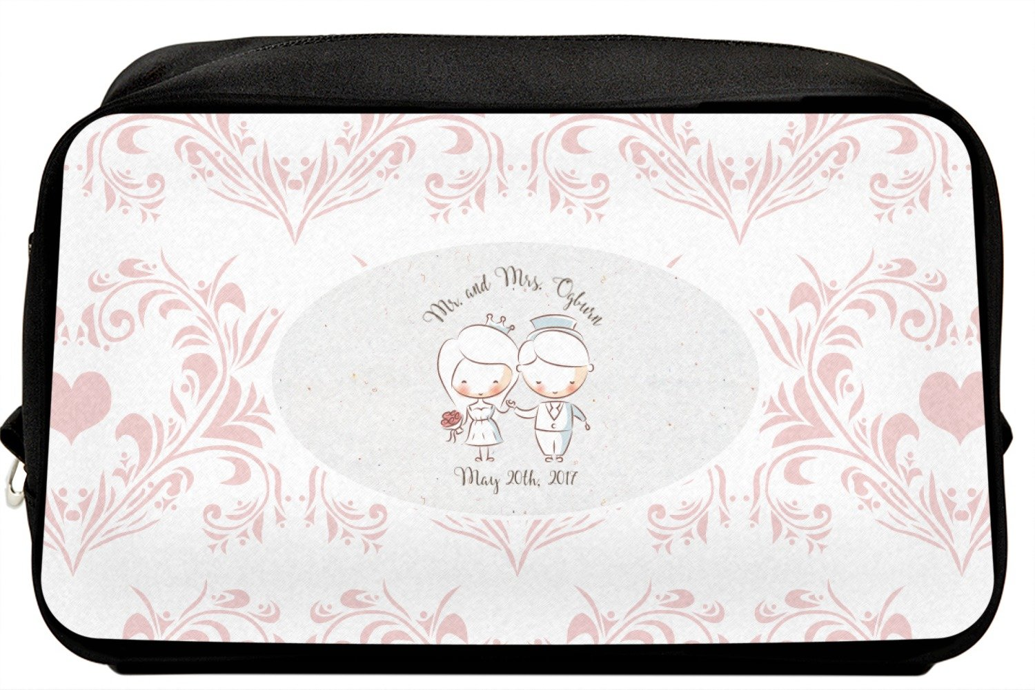 Wedding People Toiletry Bag/Dopp Kit (Personalized)