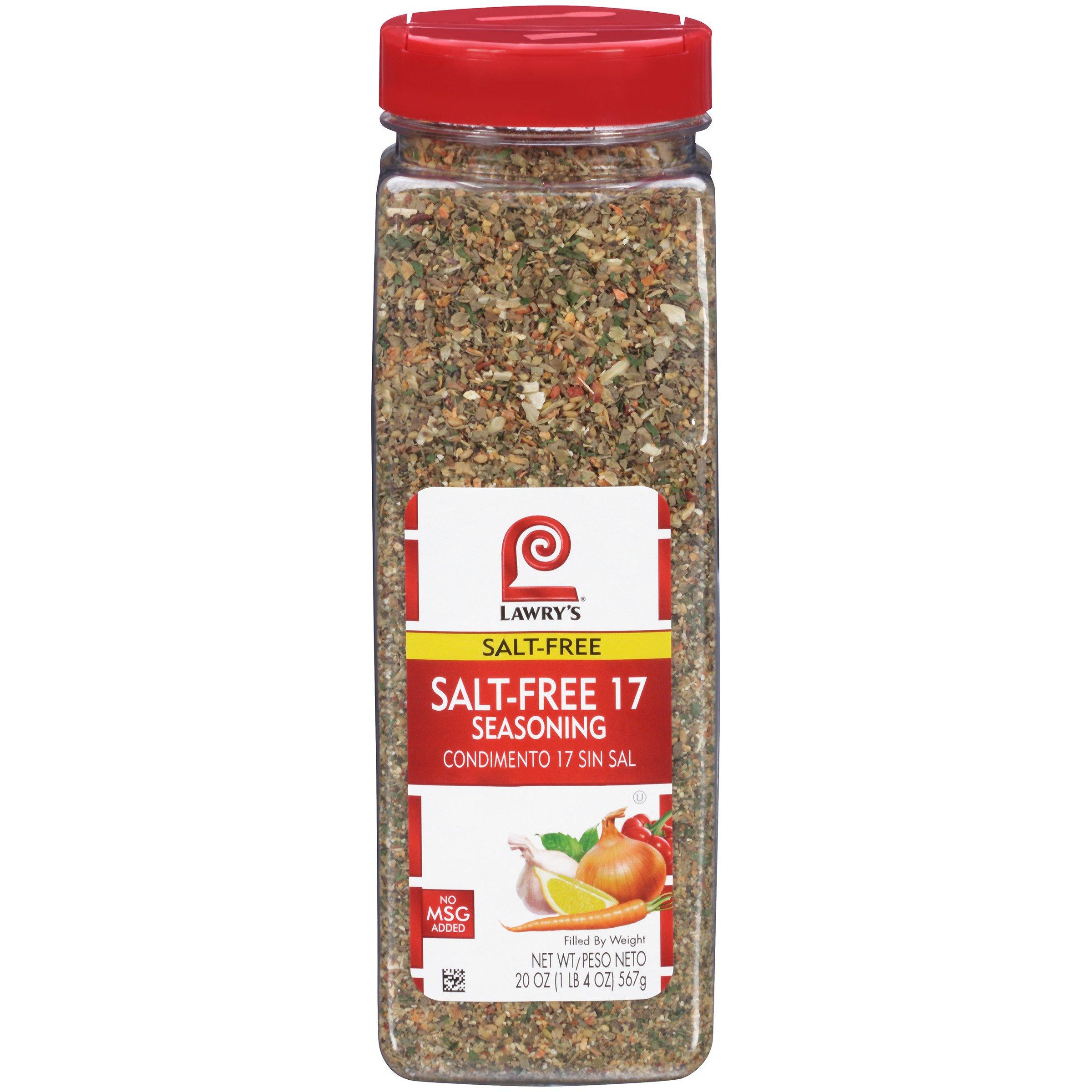 Lawry's Salt Free 17 Seasoning, All Purpose Seasoning, 20 oz