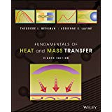 Fundamentals of Heat and Mass Transfer, 8th Edition