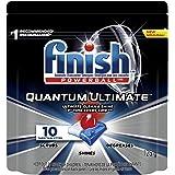 Detergente para Lava Louças em tabletes Finish Quantum Ultimate com 10 unidades