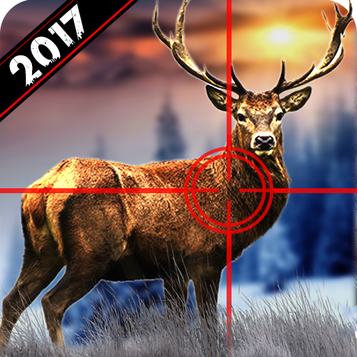 Wild Deer Hunting 2017: Snow Sniper Shooting 3D
