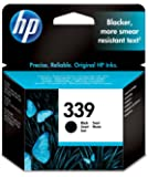HP 339 Black Original Ink Cartridge (C8767EE)