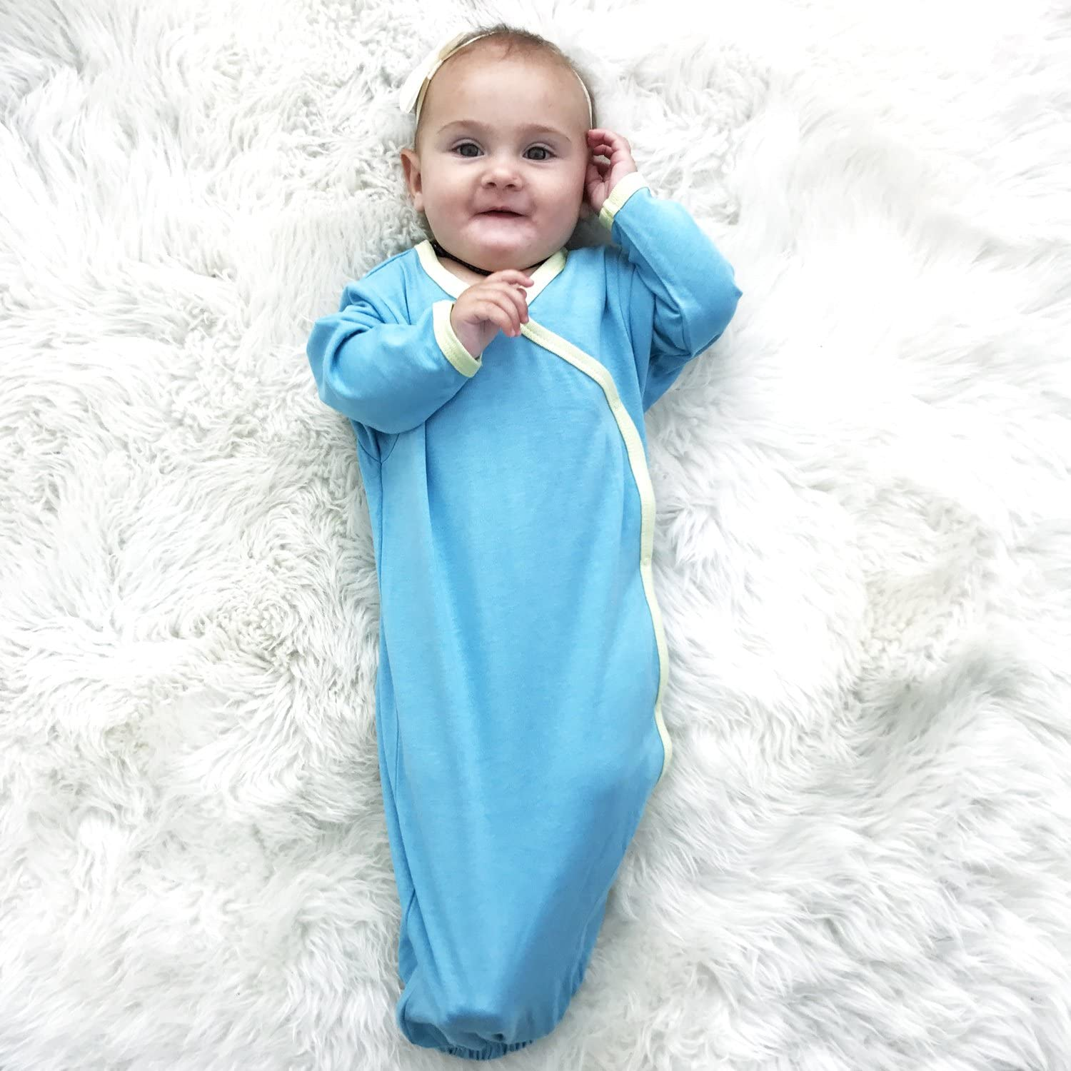 Babysoy Eco Essential Baby Gown