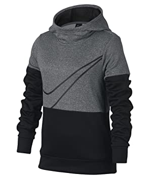 Nike G Nk Po Therma Gx Sudadera, Niñas, Gris (Carbon Heather Black), XL: Amazon.es: Deportes y aire libre