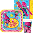 Trolls Party Supplies - Snack Party Pack for 8