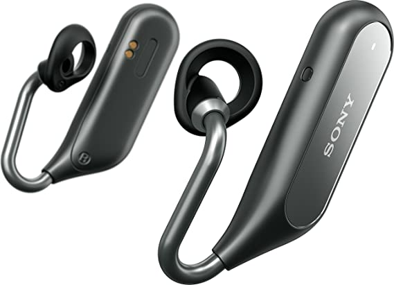 Sony Xperia Ear Duo - Auricular inalámbrico bluetooth Open Ear, color negro: Amazon.es: Electrónica
