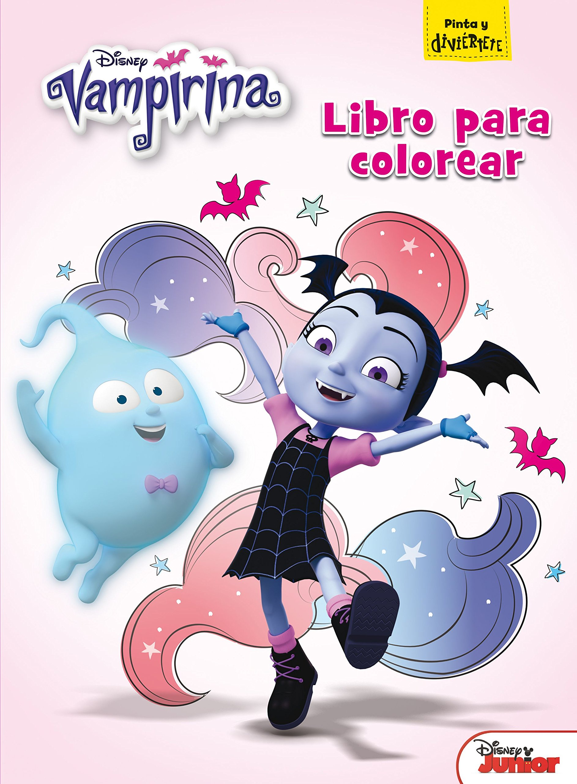 Vampirina Libro Para Colorear Amazon It Disney Editorial