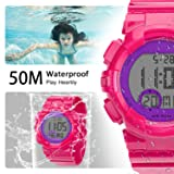 7 Colors Kids Sports Watches Children for Girls