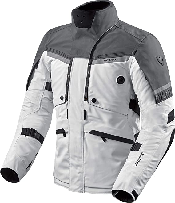 Rev It Motorradjacke Mit Protektoren Motorrad Jacke Poseidon 2 Gtx Textiljacke Herren Tourer Ganzjährig Bekleidung