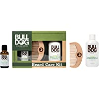 Bulldog Skincare for Men Pack - Kit Cuidado Barba, Aceite Barba + Champú y Acondicionador Barba + Peine