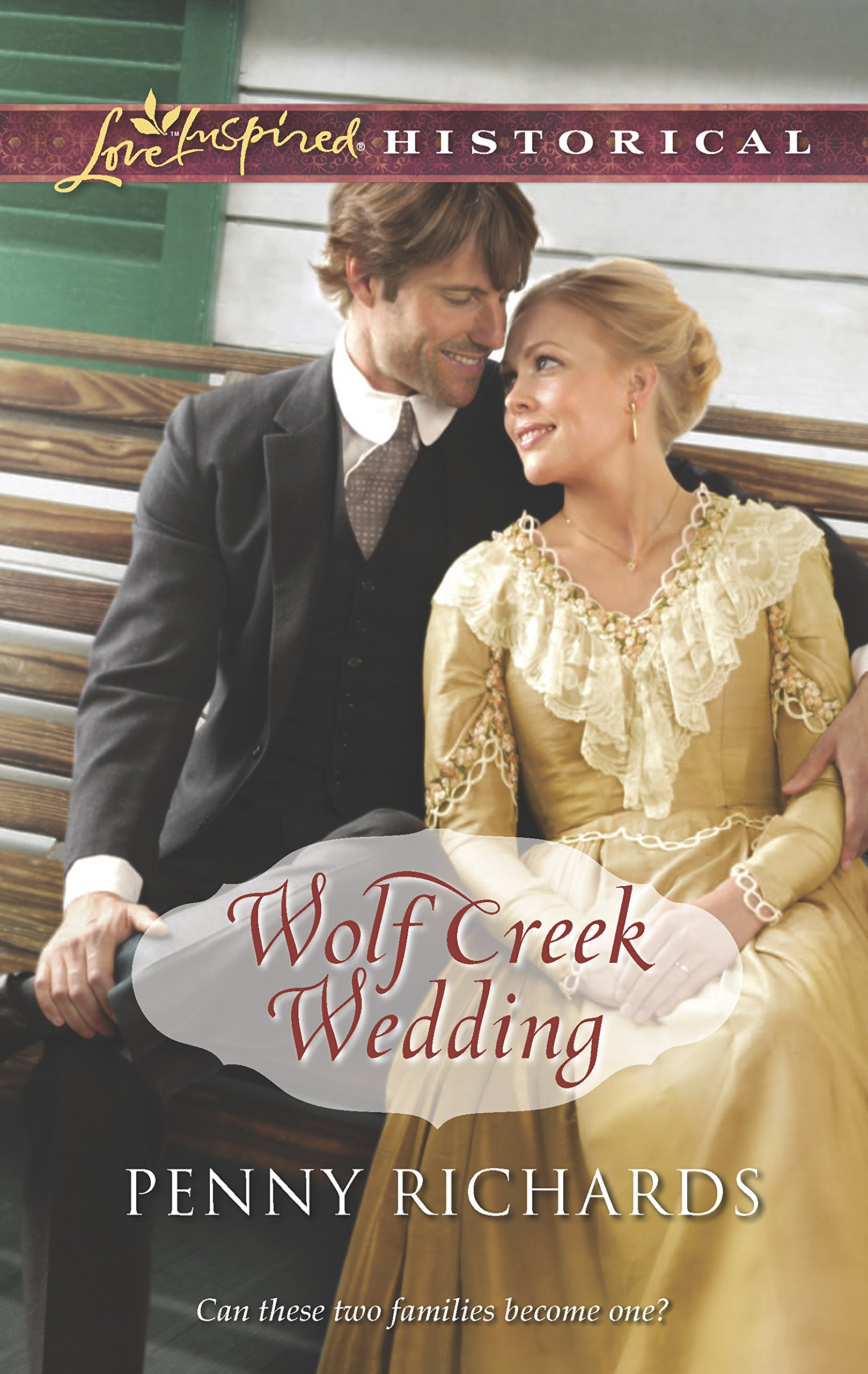 Wolf Creek Wedding (Love Inspired Historical): Penny Richards:  9780373829880: Amazon.com: Books