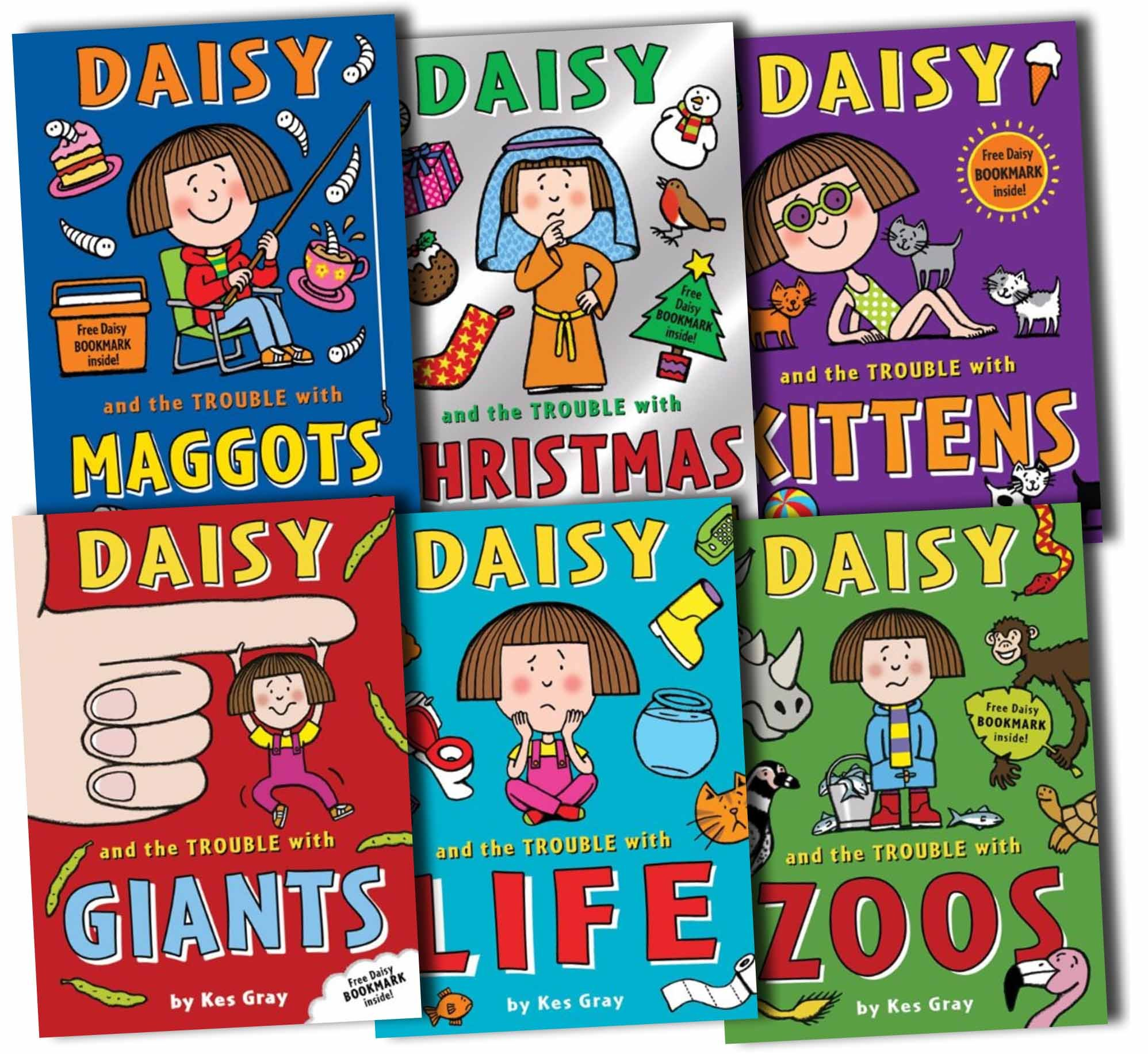 Daisy And The Trouble Collection Pack Kes Gray 6 Books Set New ebook