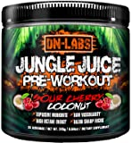 Jungle Juice - Ultra Potent Pre Workout Drink - The Bodybuilder's Formula For Pump, Strength, & Gym Gains - Powerlifting PreWorkout Supplement