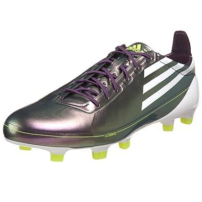 03458b7b2648 adidas Men's F50 Adizero TRX FG Soccer Shoe,Chameleon Purple/White/ Electricity,