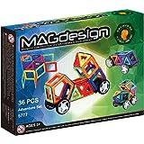 MAGdesign Adventure Set (36 PCS) Magnetic construction system for brain development