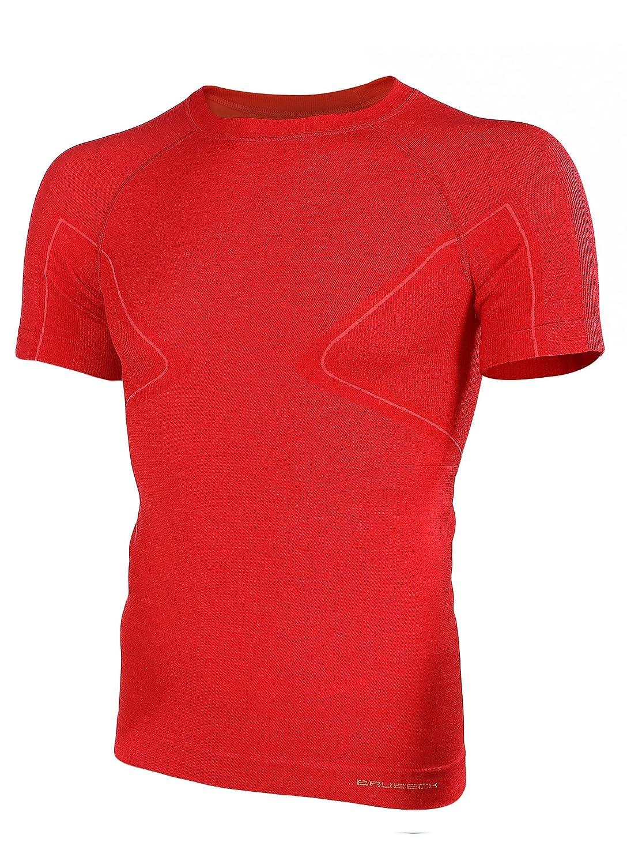 BRUBECK® SS11710 ACTIVE WOOL Herren Shirt | Merino | Sport | Fitness | Funktionswäsche | Unterhemd