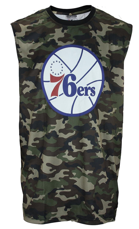 Philadelphia 76ers NBA grande y alto Mens camisa del músculo de camuflaje, camuflaje verde, Verde (CAMOGREEN): Amazon.es: Deportes y aire libre