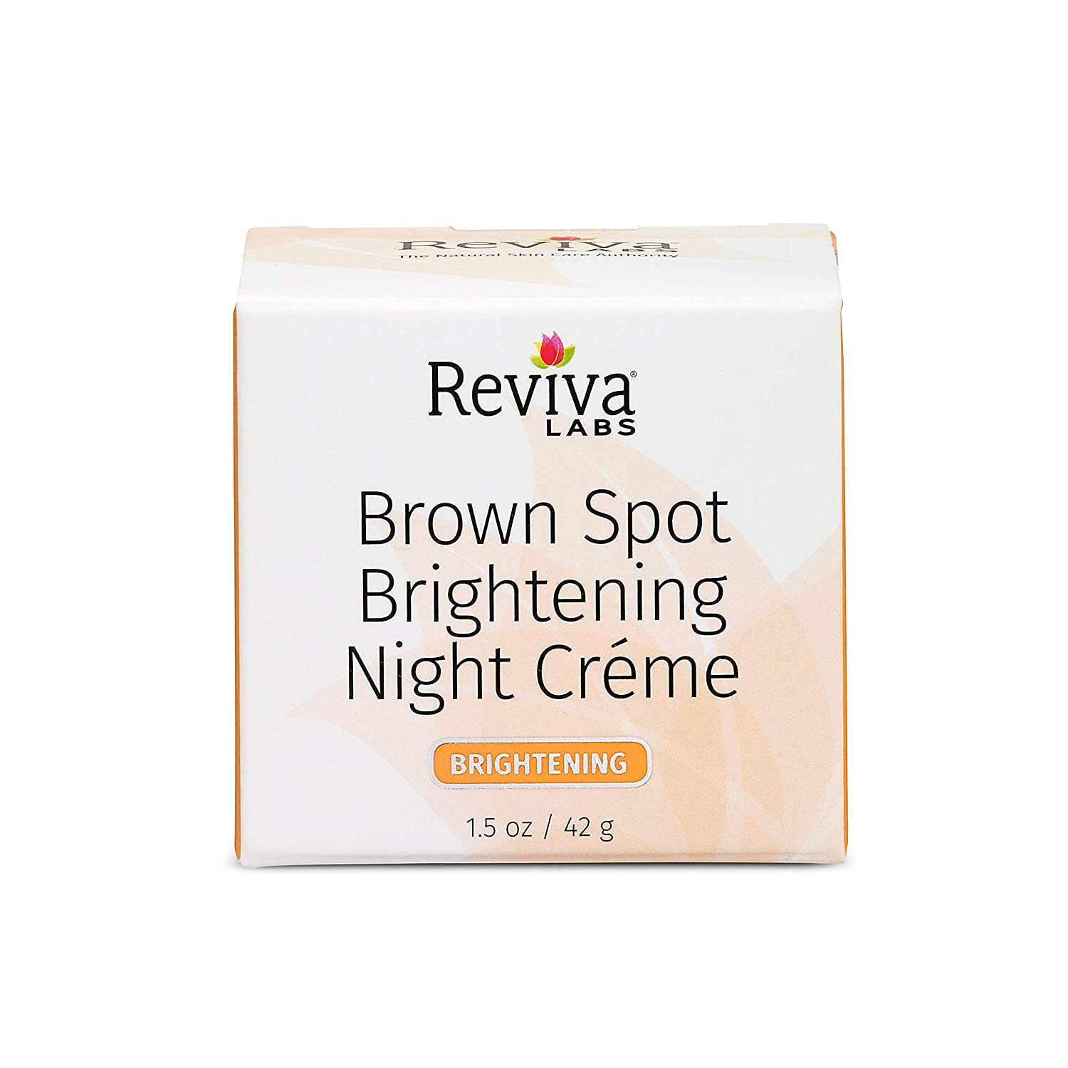 Reviva Labs - Brown Spot Skin Lightening Night Cream - 1.5 oz.