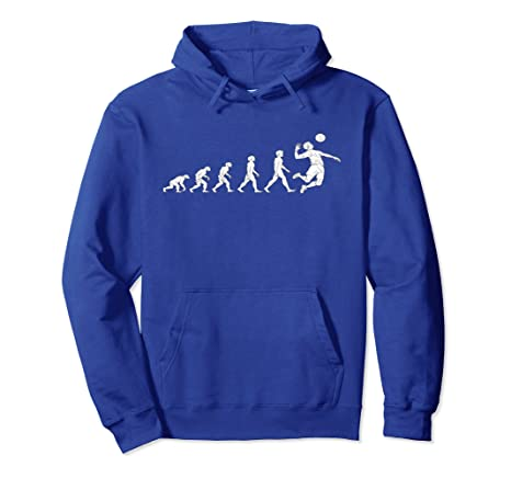 Amazon.com: Men's Evolution Volleyball Hoodie Great Gifts Men Women:  Clothing