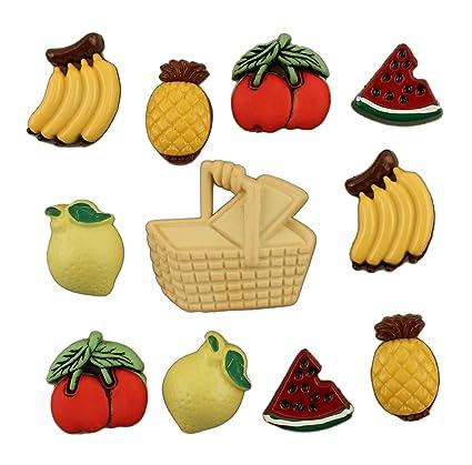 amazon com buttons galore button theme pack fruit basket arts