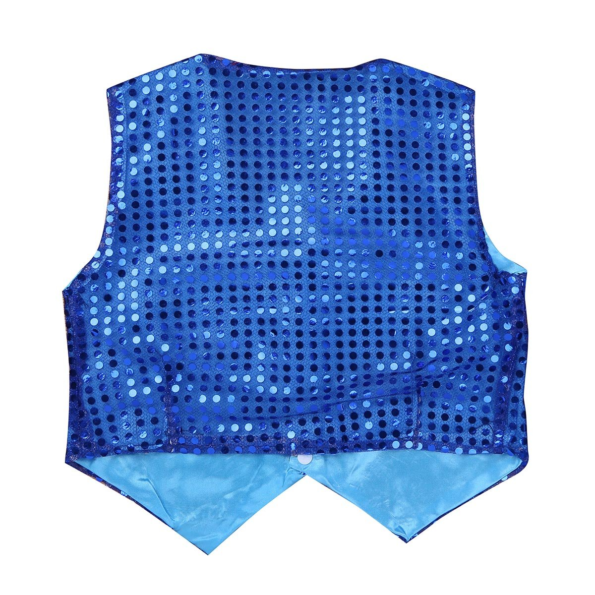 iEFiEL Boys Girls Sequined Vest Top Waistcoat Costume Kids Choir Jazz Dance Stage Performance Fancy Jacket